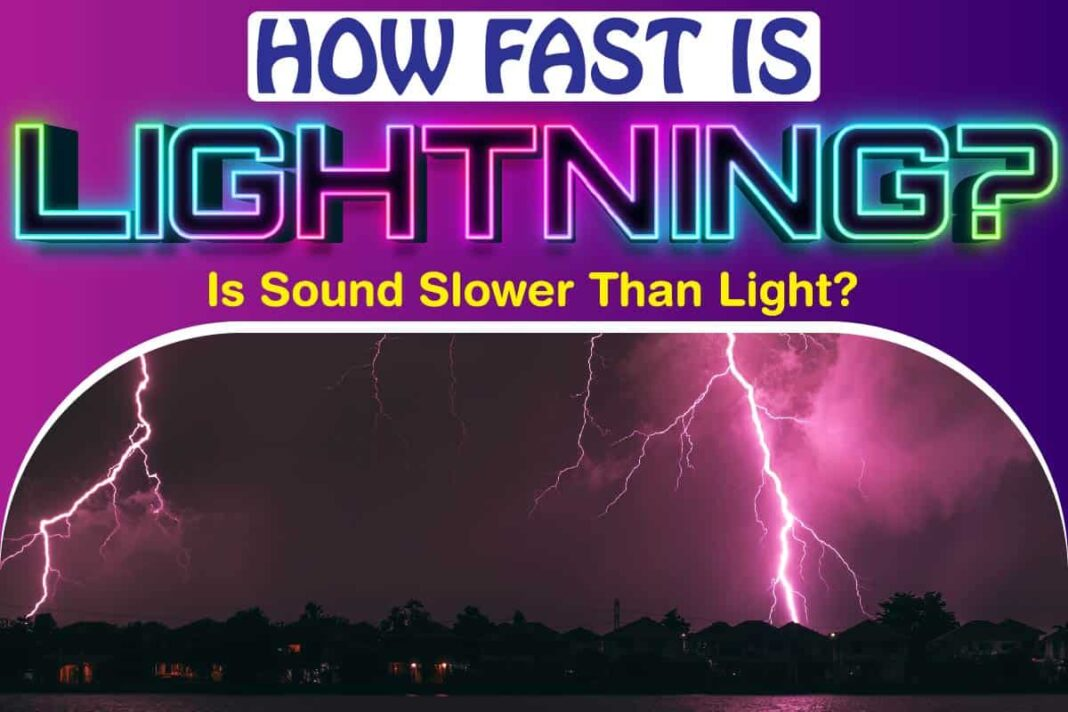 How Fast Is Lightning