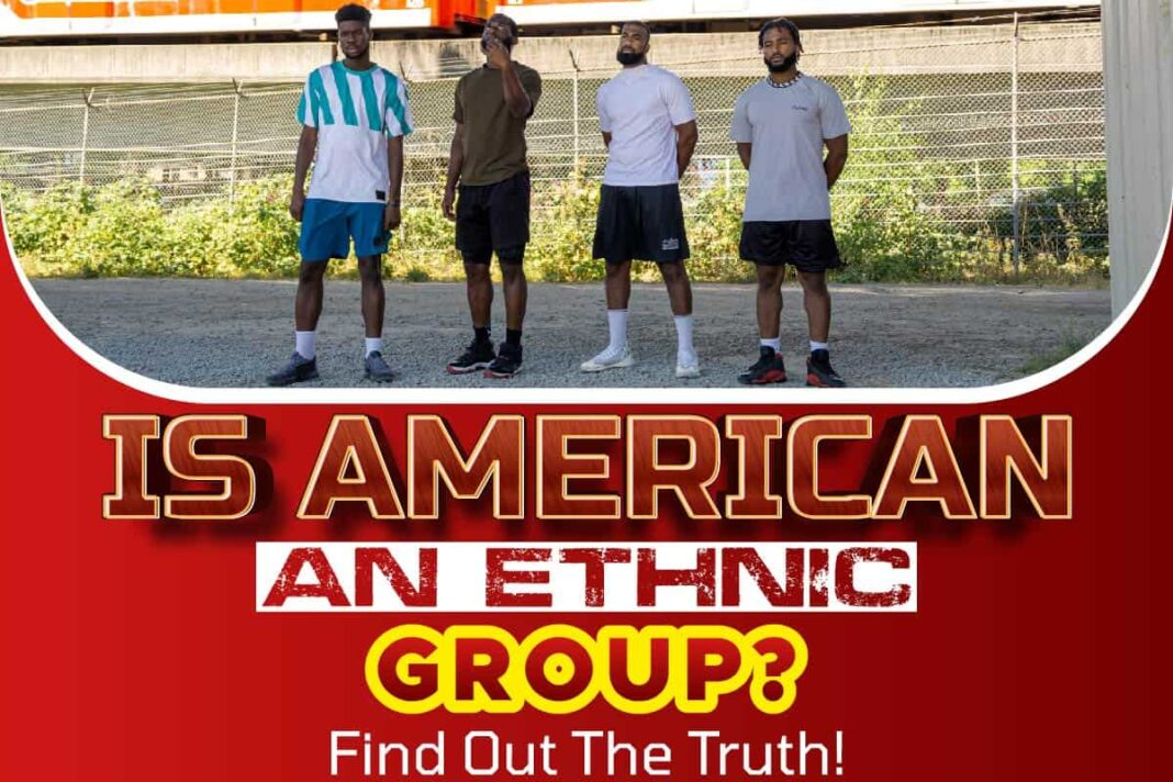 Is American an Ethnic Group