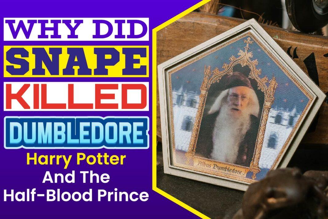 Why Did Snape Killed Dumbledore