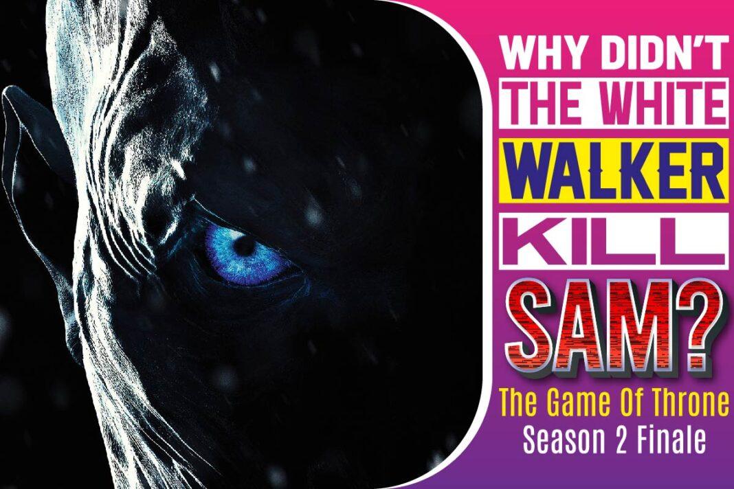 Why Didn't The White Walker Kill Sam